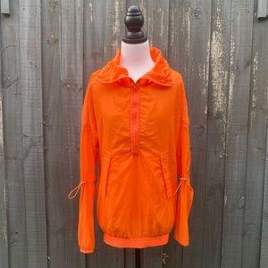 Adidas By Stella McCartney Orange Nylon Jacket XS
